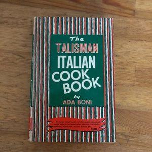 Special Edition Ronzoni Italian Talisman Cookbook